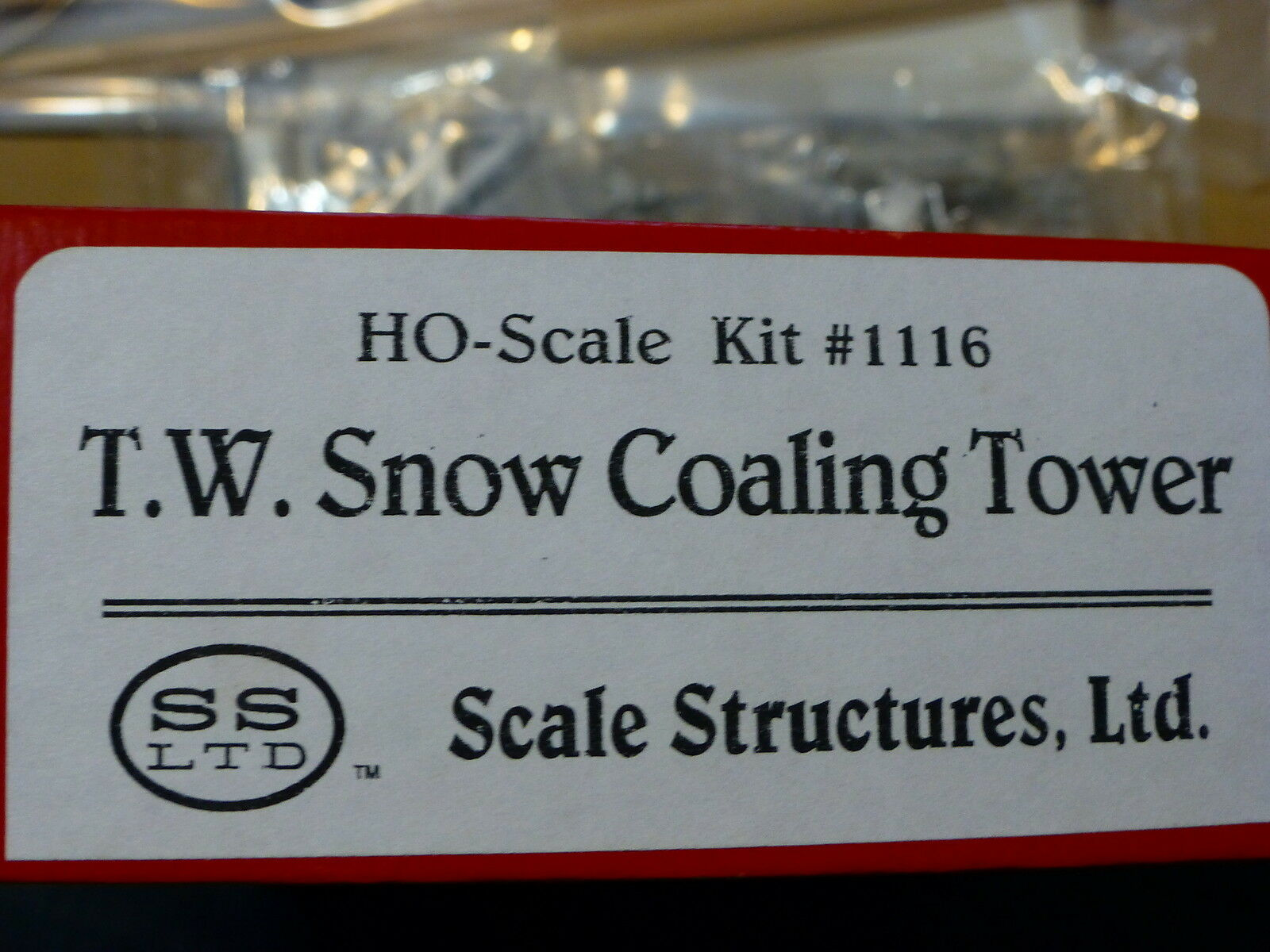 Ebene strukturen ltd.   1116 t.w. schnee coaling tower (kit)