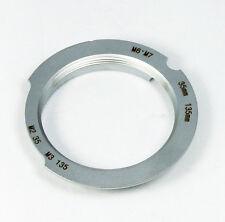 6-Bit Code Leica M39 LTM lens to M Mount L/M Adapter 35-135 mm 35mm M8 M9P M-240