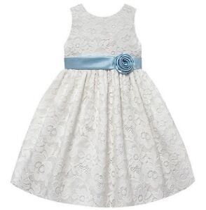NEW American Princess Toddler Girls Size 2T White Dress Party Holiday Wedding