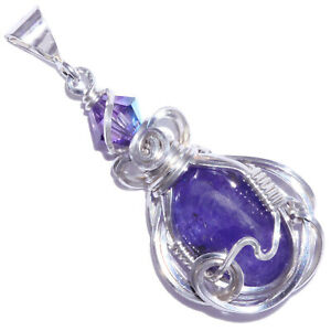 Tanzanite-Handmade-Wire-Wrapped-Sterling-Pendant