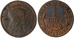 1 Centime Dupuis 1900 , Rare Et Superbe