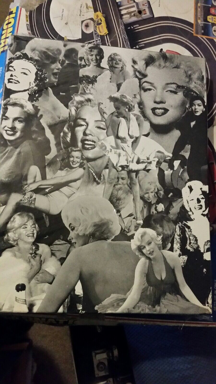 Marilyn Monroe Jigsaw Puzzle 1974 The Late Show