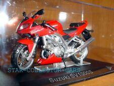 SUZUKI SV1000S SV 1000 S RED 1/24 MINT IN BOX!!!