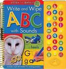 Write and Wipe ABC with Sounds: Listen to Learn by Hinkler Books (Hardback, 2007)
