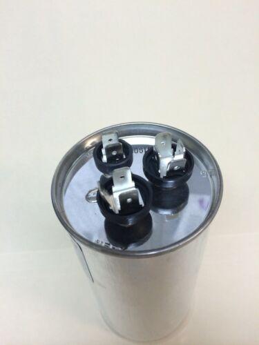 Lot 5 Dual Capacitor 60//5 5//60 MFD 370 v  440v AC Motorc 440  vac volts 5+60 uf