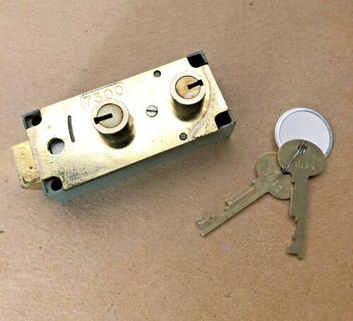 Lefebure 7300 Safe Deposit Box Lock w//Keys