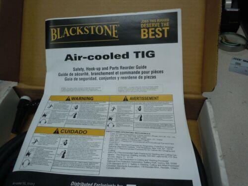9FVMT-25-R-1 Piece Flex w// Valve Rubber Blackstone® Air Cooled 125A Torch Kit