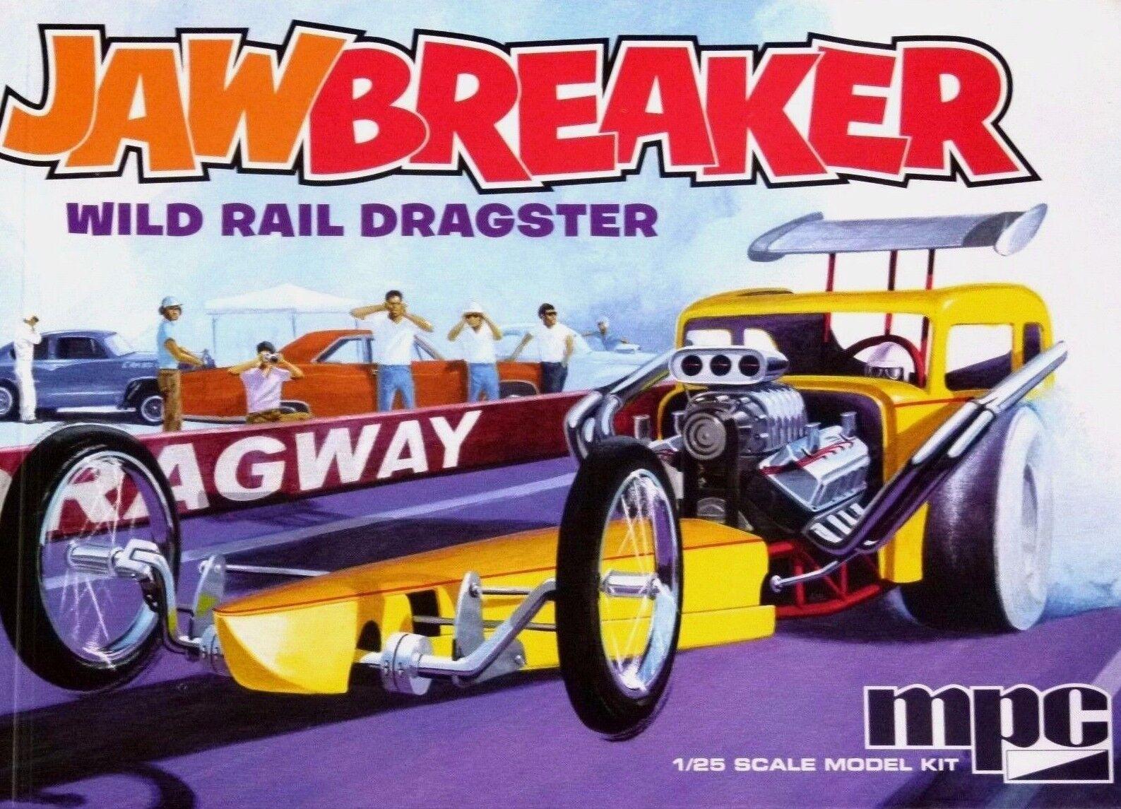MPC 1 25 Jawbreaker Rail Dragster Car Model Kit