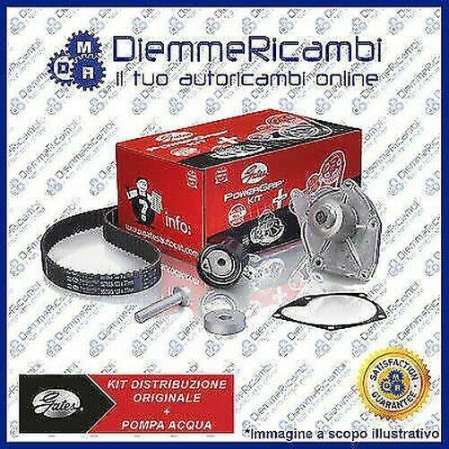 Kit de Distribución Original Gates + Bomba Agua Peugeot 207 1.4 Bifuel 82CV 06-