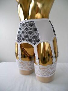 Alle Größen Weiß Lycra Weiße Spitze Vorne Designer Retro Stil Hüftgürtel