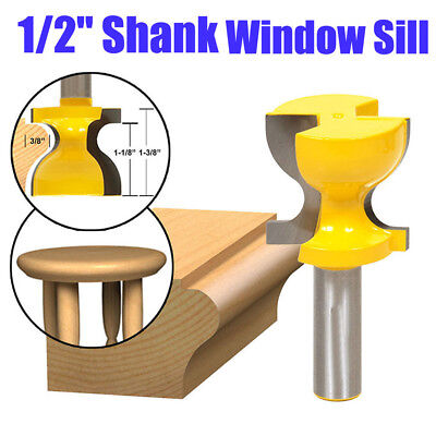 1//2/'/' Shank Large Furniture Foot Mold Carbide Alloy Wood Cutter Router Bit Tool