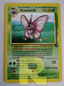 Venomoth ® Jungle 13/64 ® Rara Holo Foil ® Pokemon ® Italiano ® EX