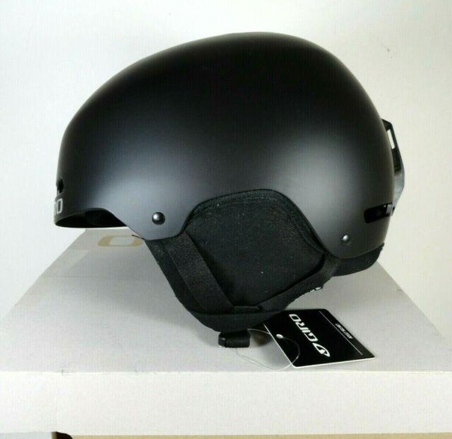 New GIRO Ledge Adult Sz L Snow Sports Helmet Matte Black w box