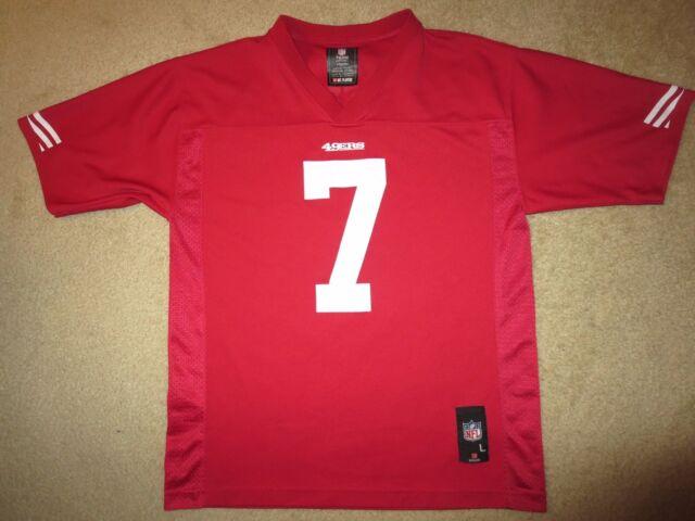 395e4a8ad09 Colin Kaepernick  7 San Francisco 49ers NFL Nike Jersey XL 52 Rookie ...