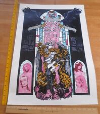 """Eagles of Death Metal Australia SEXY print Concert Palace 18.5x27"""" Rhys Cooper"""
