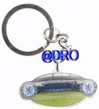 Schlüsselanhänger CHELSEA FC + Stamford Bridge Innenaufnahme + 4,5x2,0 cm + (20)