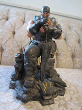GEARS OF WAR 3 Marcus Fenix Figure Statue 11 INCHES TALL