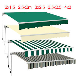 Garden Patio Awning Canopy Sun Shade Shelter Replacement Fabric Top