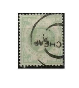 Gran Bretagna 97, 1 SH, regina Victoria, timbrato #n764