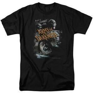 Army-Of-Darkness-t-shirt-Retro-80-039-s-horror-film-Ash-Williams-graphic-tee-MGM103
