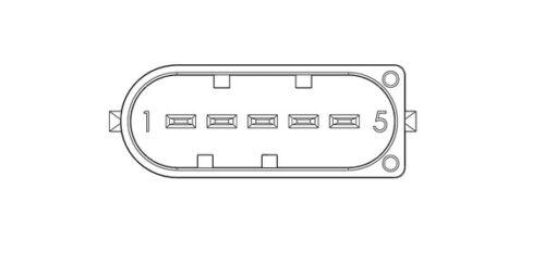 FDM681 sensor de masa de aire medidor de flujo de Lucas genuino reemplazo de calidad superior NUEVO