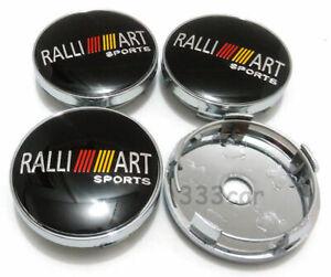 56mm RALLIART Wheel Center Cap Badge Hub Cover Emblem Sticker