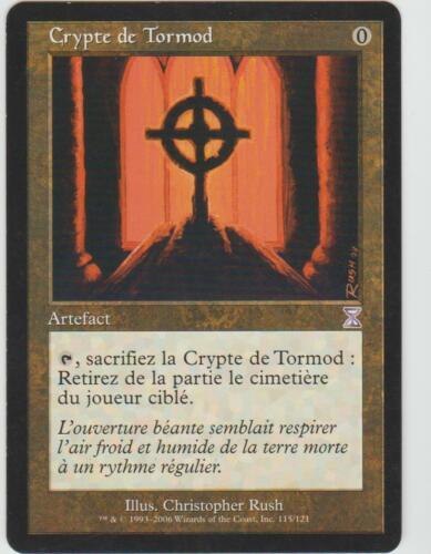 Tormod/'s Crypt // Crypte de Tormod ►Magic-Style◄ MTG Time Spiral EX