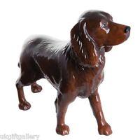 John Beswick Ceramic Chocolate Cocker Spaniel Figurine - Brand & Boxed