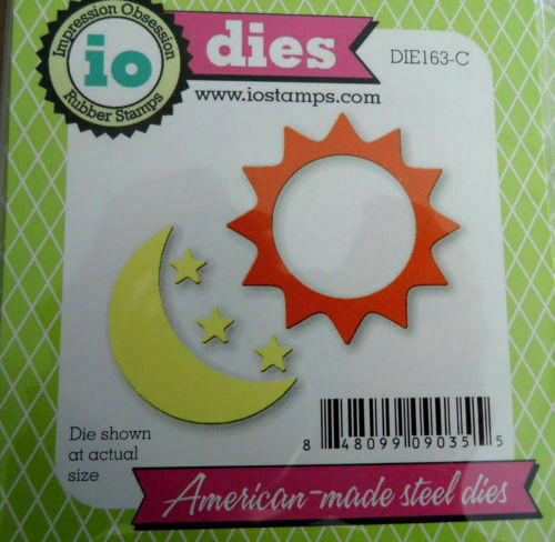 163C SUN /& MOON DIE-Impression Obsession suitable for most die cutters