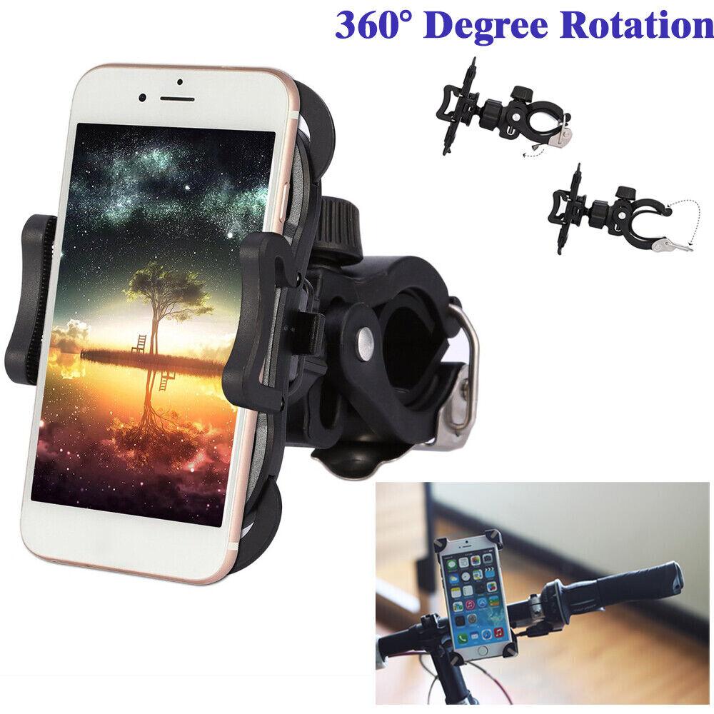 360° Universal MTB Bike Bicycle Mount Holder Bracket Cycling For Smart Phone GPS