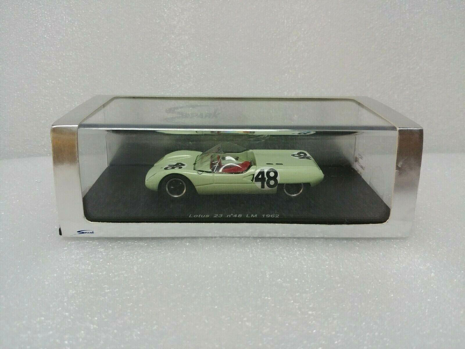 oferta de tienda Lotus Lotus Lotus 23 No.48 Le Mans 1962 Spark MODEL 1 43  S0253  venderse como panqueques
