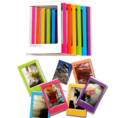 New 7 Color Magnetic Photo Frame Pictures for FujiFilm Instax Mini Film Polaroid