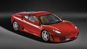 2005-Ferrari-F430-Auto-Car-Art-Silk-Wall-Poster-Print-24x36-034