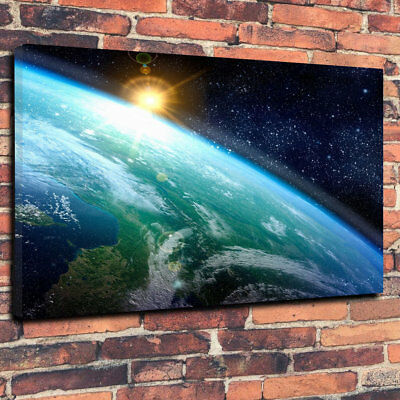 """30mm Deep Stunning Outer Space Galaxy Printed Box Canvas Picture A1.30/""""x20/"""""""