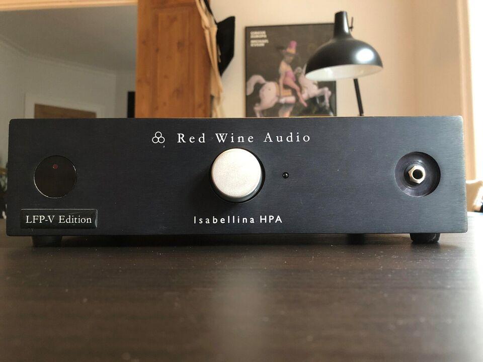 Hovedtelefonforstærker, Red Wine Audio, Isabellina