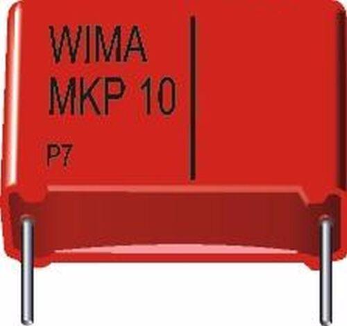 10 pc 5 New #bp Wima mkp10 4,7nf 0,0047uf 1000vdc 1 KVDC 600vac rm7