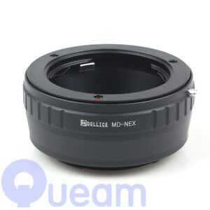 Lentille Adaptateur Pour Minolta Md à Sony Nex Nex-5t Nex-3n Nex-7 Nex-6 Nex-5