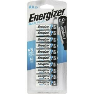 Energizer Advanced Max Plus AA Alkaline Batteries 10 pack