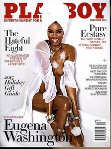 Playboy Magazine December 2015 Miss December Eugena