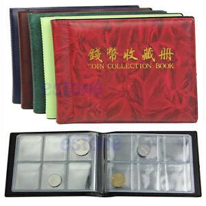 Penny-Money-Unique-Design-Pockets-60-Holders-Collection-Storage-Coin-Album-Book