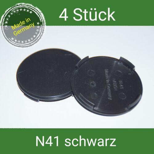 N 41 negro tapacubos vigas 64 mm ATS Alutec 4 St. rial