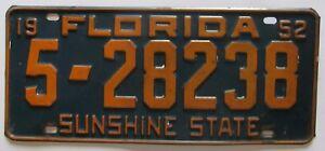 Florida-1952-POLK-COUNTY-License-Plate-HIGH-QUALITY-5-28238