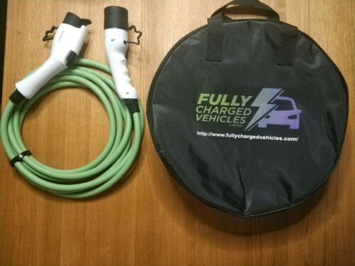 up to 7.5 kwh Mitsubishi Outlander Phev 10M 32A charging cable FAST CHARGING.
