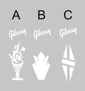 Gibson-Headstock-Vinyl-Decal-sticker-for-Guitar