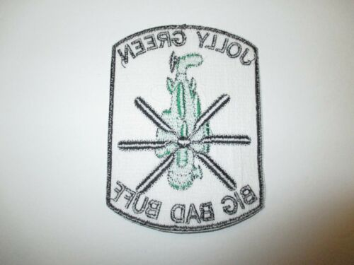 b6559 Vietnam US Air Force Jolly Green Big Bad Buff Helicopter patch IR22A