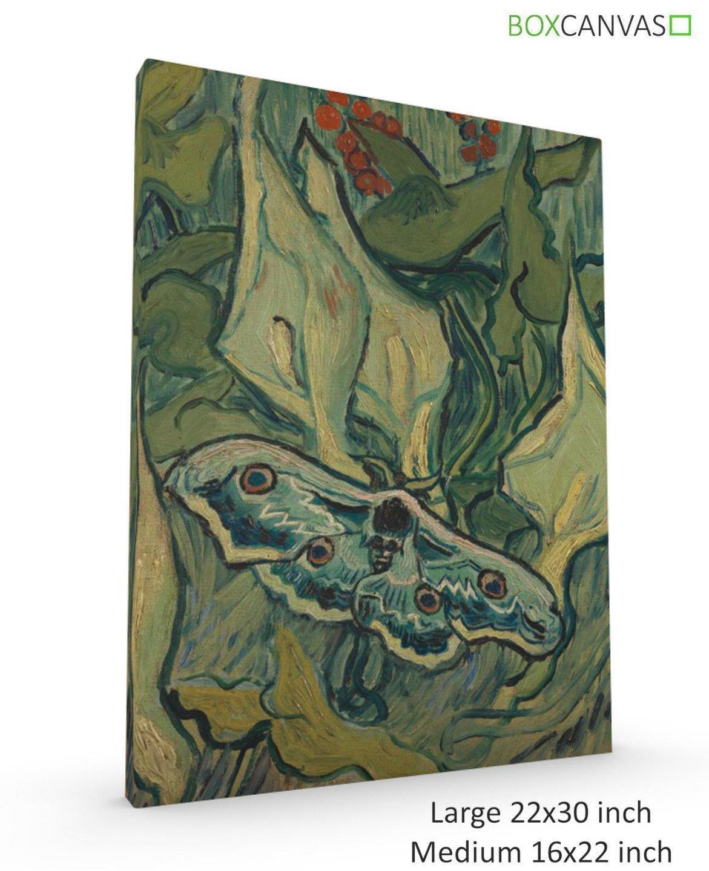 Van Gogh post impressionismo A Muro Muro Muro Art 5 Moth a93494