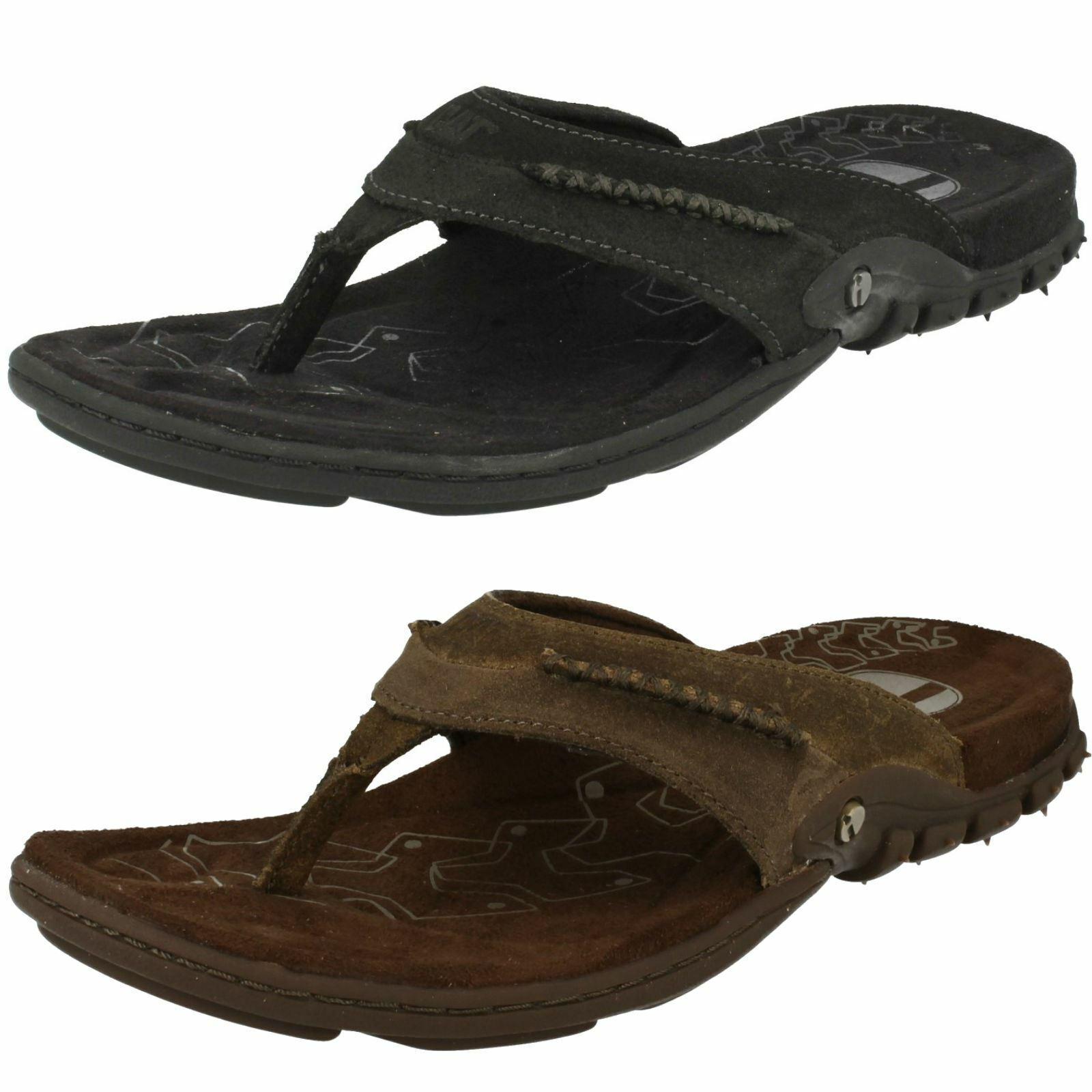 Mens Caterpillar Toe-Post Sandals Pismo