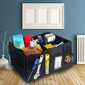 Car-Boot-Tidy-Bag-Storage-Box-Trunk-Organiser-Travel-Holder-Foldable-Collapsible