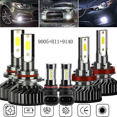6X COB LED Headlight Fog Light for 2009-2018 Dodge Ram 1500 2500 3500 4500 5500