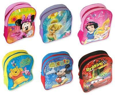 Rucksack Disney Cars Tinkerbell Pooh Princess Neu
